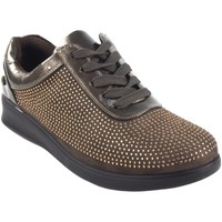Chaussures Femme Baskets basses Amarpies Chaussure femme  18840 ast taupe Marron