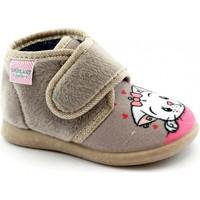 Chaussures Fille Chaussons bébés Grunland GRU-I20-PA0623-BE Beige