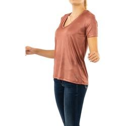 Vêtements Femme T-shirts manches courtes Please t0ay 3297 redwood rouge