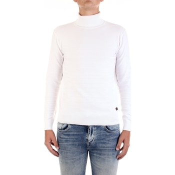 Vêtements Homme Pulls Yes Zee M836-ME00 blanc