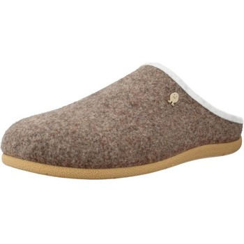 Chaussures Femme Chaussons Hot Potatoes 60742G Beige