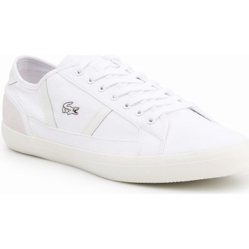 Chaussures Homme Baskets basses Lacoste Sideline Blanc