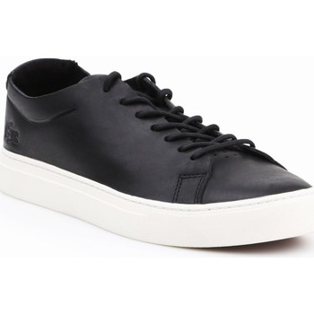 Chaussures Homme Baskets basses Lacoste L1212 Unlined Noir