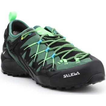 Chaussures Homme Randonnée Salewa MS Wildfire Edge Gtx Noir, Vert