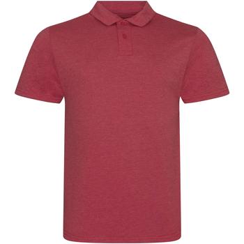 Vêtements Homme Polos manches courtes Awdis JP001 Rouge