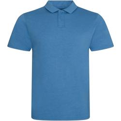 Vêtements Homme Polos manches courtes Awdis JP001 Bleu saphir chiné