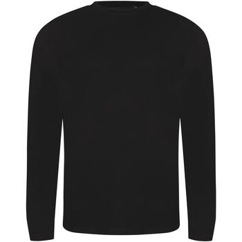 Vêtements Homme T-shirts manches longues Awdis JT002 Noir