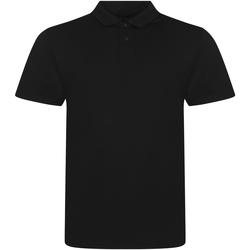 Vêtements Homme Polos manches courtes Awdis JP001 Noir