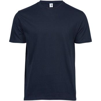 Vêtements Homme T-shirts manches courtes Tee Jays TJ1100 Bleu marine