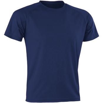 Vêtements Homme T-shirts manches courtes Spiro SR287 Bleu marine