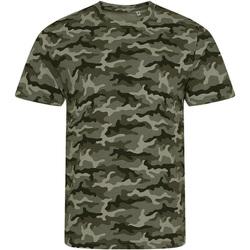 Vêtements Homme T-shirts manches courtes Awdis JT034 Vert