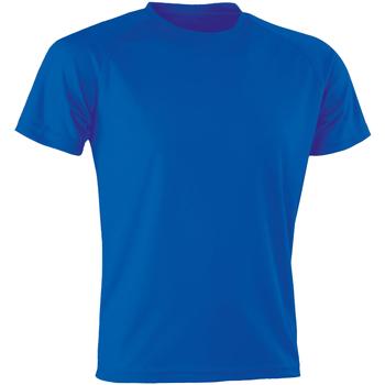 Vêtements Homme T-shirts manches courtes Spiro SR287 Bleu roi