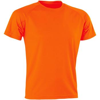 Vêtements Homme T-shirts manches courtes Spiro SR287 Orange vif
