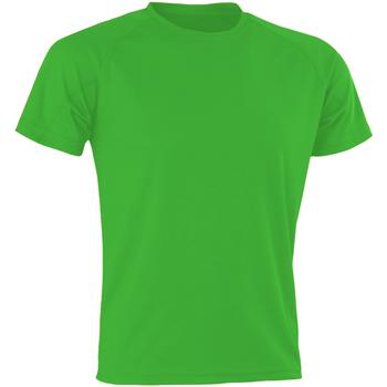 Vêtements Homme T-shirts & Polos Spiro SR287 Vert Pomme