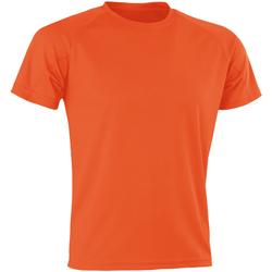Vêtements Homme T-shirts manches courtes Spiro SR287 Orange