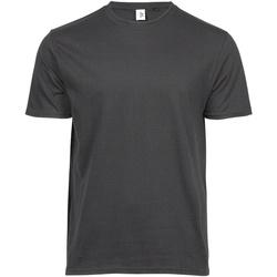 Vêtements Homme T-shirts manches courtes Tee Jays TJ1100 Gris Foncé