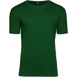 Vêtements Homme T-shirts manches courtes Tee Jays T520 Vert Foncé