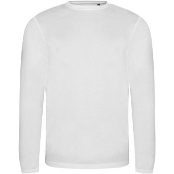 Vêtements Homme T-shirts manches longues Awdis JT002 Blanc