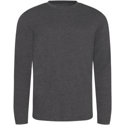 Vêtements Homme T-shirts manches longues Awdis JT002 Charbon