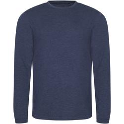 Vêtements Homme T-shirts manches longues Awdis JT002 Bleu marine