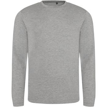 Vêtements Homme T-shirts manches longues Awdis JT002 Gris