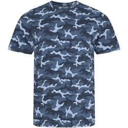 Vêtements Homme T-shirts & Polos Awdis JT034 Bleu