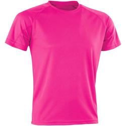 Vêtements Homme T-shirts manches courtes Spiro SR287 Rose Fluo