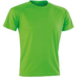 Vêtements Homme T-shirts manches courtes Spiro SR287 Vert citron