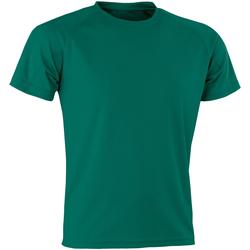 Vêtements Homme T-shirts manches courtes Spiro SR287 Vert bouteille