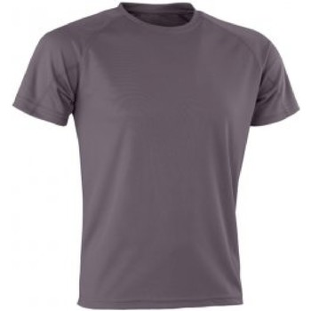 Vêtements Homme T-shirts manches courtes Spiro SR287 Gris
