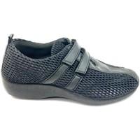 Chaussures Femme Mocassins Arcopedico L16 LICRA LAYTECH NEGRA Mocasines