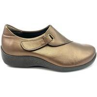 Chaussures Femme Mocassins Arcopedico TAVIA PIEL BRONCE Mocasines
