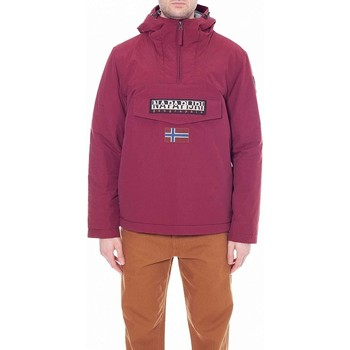 Vêtements Homme Vestes de survêtement Napapijri GIUBBOTTO MARSUPIO RAINFOREST WINTER 2 BORDEAUX Rouge