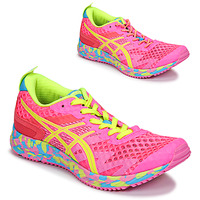 Chaussures Femme Running / trail Asics NOOSA TRI 12 Rose / Multicolore