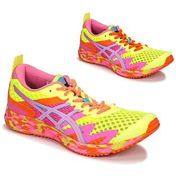 Chaussures Femme Running / trail Asics NOOSA TRI 12 Jaune / Multicolore
