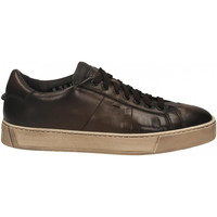 Chaussures Homme Baskets mode Santoni DERBY 7 OCC. GOOSE nero