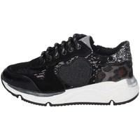 Chaussures Fille Baskets basses Asso AG-8701 NOIR
