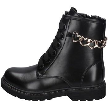 Chaussures Fille Bottines Asso AG-8911 NOIR