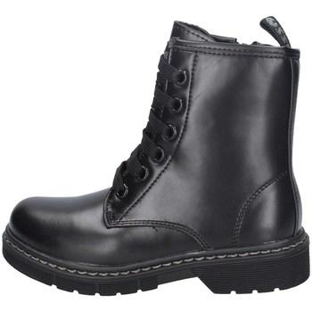 Chaussures Fille Bottines Asso AG-8900 NOIR