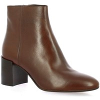Chaussures Femme Boots Pao Boots cuir Cognac