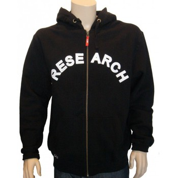 Sweats Lrg Hoody zippé - Essence - Black