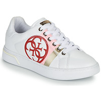 Chaussures Femme Baskets basses Guess REATA Blanc