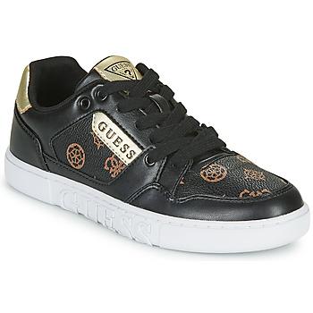 Chaussures Femme Baskets basses Guess JULIEN2 Noir