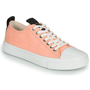Chaussures Femme Baskets basses Guess EDERLA Rose