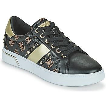 Chaussures Femme Baskets basses Guess RICENA Noir