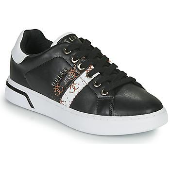 Chaussures Femme Baskets basses Guess REEL Noir