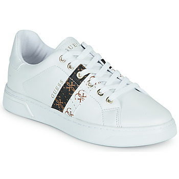 Chaussures Femme Baskets basses Guess REEL Blanc