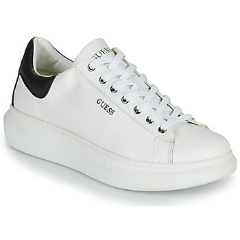 Chaussures Homme Baskets basses Guess SALERNO Blanc
