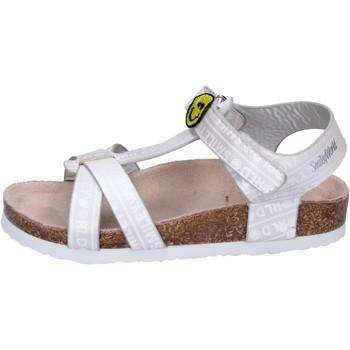 Chaussures Fille Sandales et Nu-pieds Smiley BK514 Argenté