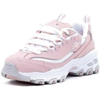 Chaussures Fille Baskets basses Skechers  Rosa